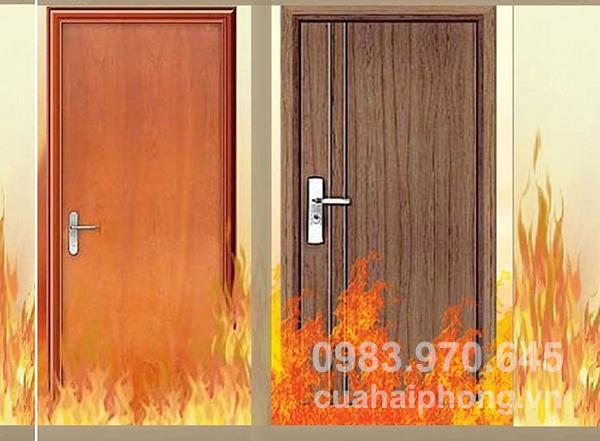 Lắp đặt cửa thép chống cháy tại Hải Phòng